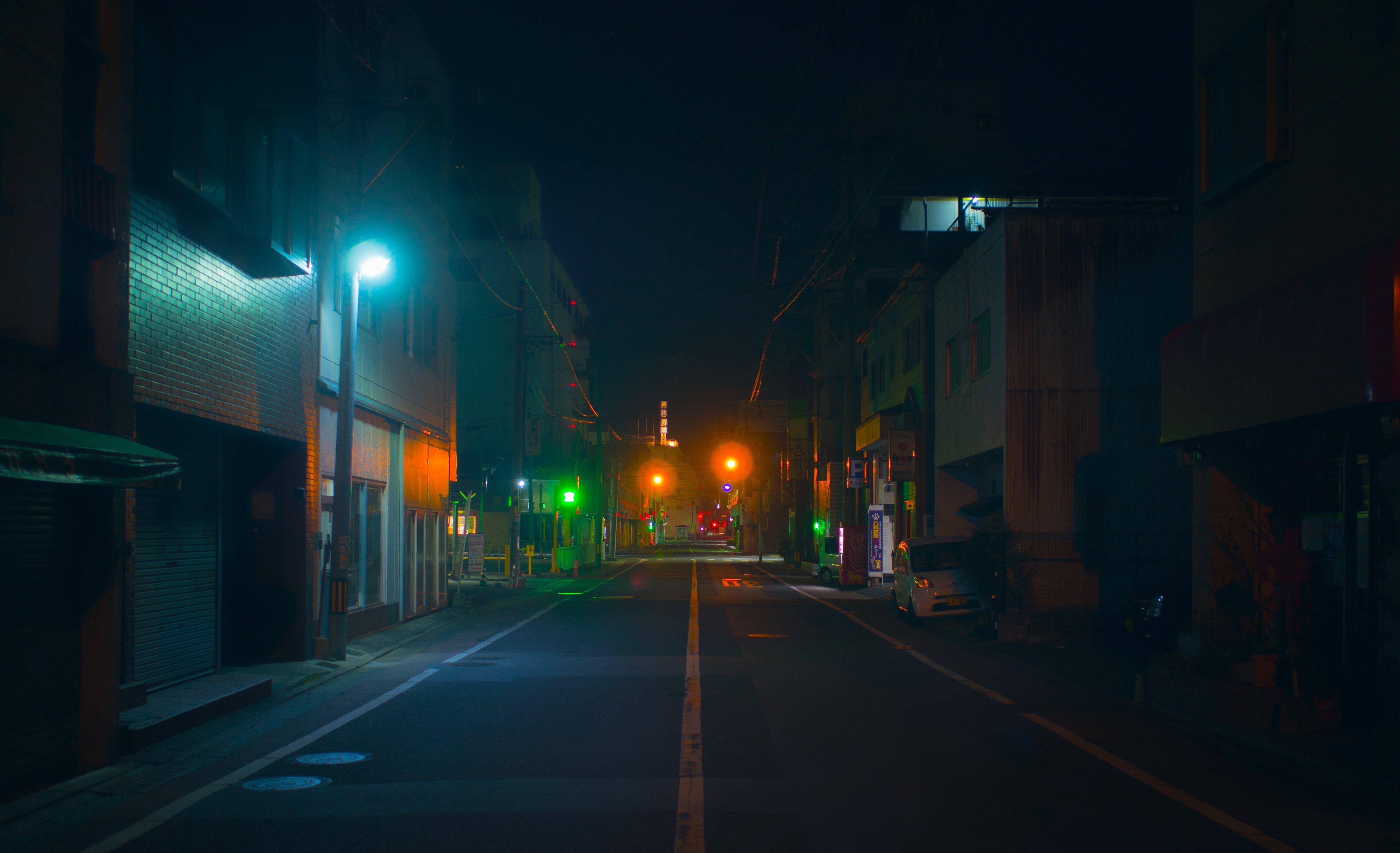 Japanese Night-time Street Photography - Micah Killian